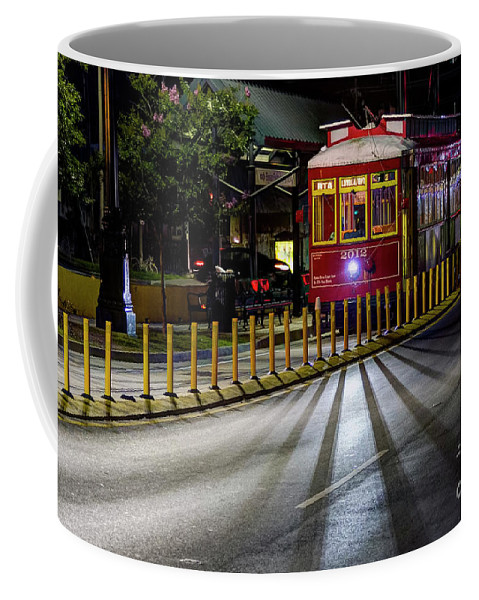 End Of The Line Coffee Mug featuring the photograph End Of The Line by Gary Holmes