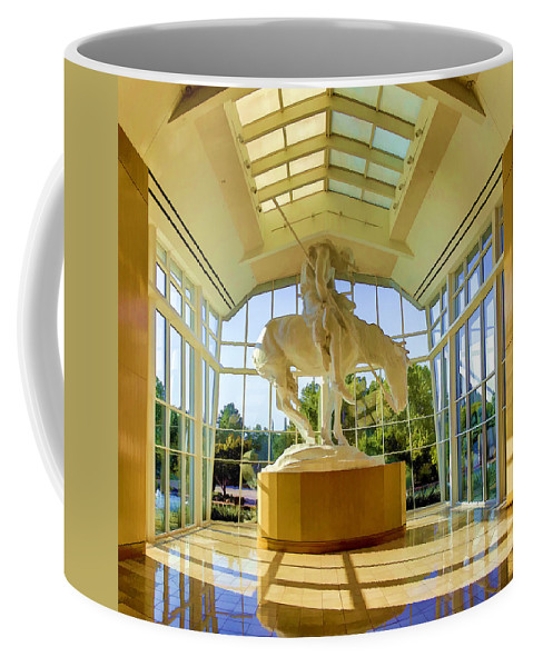 End Of The Trail Coffee Mug featuring the photograph End Of The Trail by Ricky Barnard