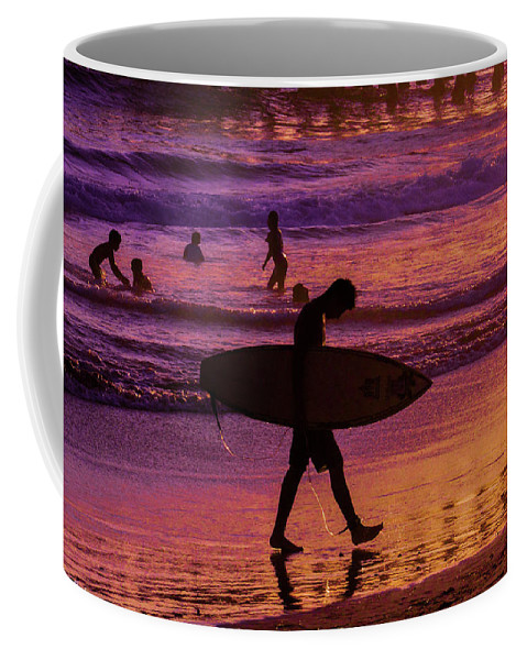 California Coffee Mug featuring the photograph Endless Summer 2 by Tommy Anderson