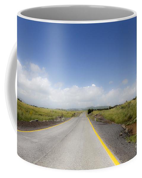 Eternity Coffee Mug featuring the photograph Endlkess Road by Gal Eitan