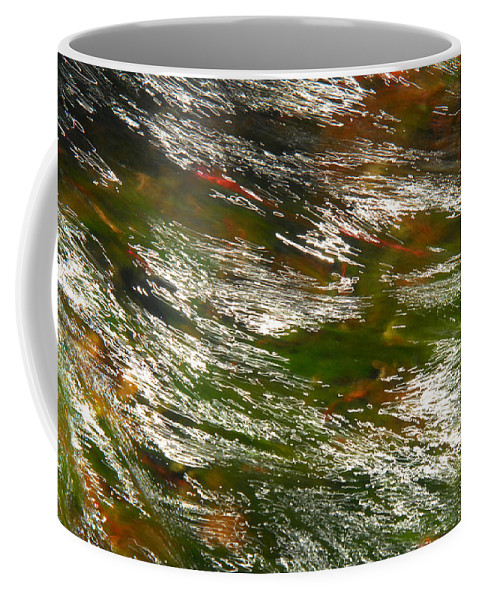 Water Coffee Mug featuring the photograph Energized by Donna Blackhall