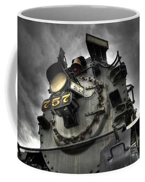 Hdr Coffee Mug featuring the photograph Engine 757 by Scott Wyatt