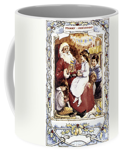 19th Century Coffee Mug featuring the photograph English Christmas Card by Granger