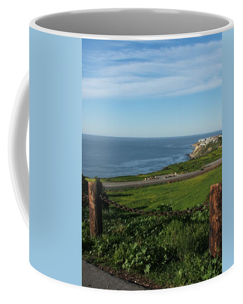 Ocean Coffee Mug featuring the photograph Enjoying The View by Shari Chavira