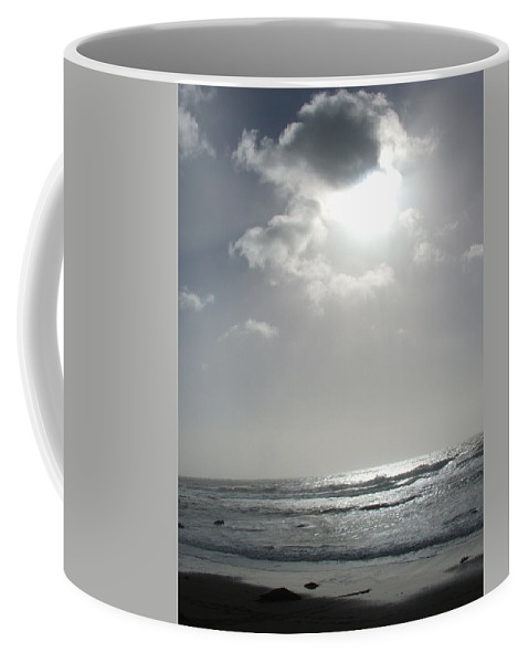 Black And White Coffee Mug featuring the photograph Enlightened by Shari Chavira