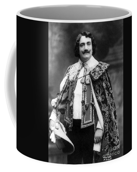 Fine Arts Coffee Mug featuring the photograph Enrico Caruso, Italian Opera Singer by Science Source