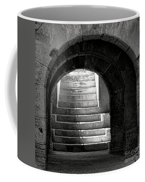 Arles Coffee Mug featuring the photograph Enter The Arena by Olivier Le Queinec
