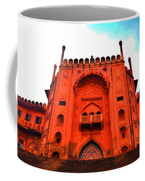 Architecture Coffee Mug featuring the photograph #Entrance Gate by Aakash Pandit