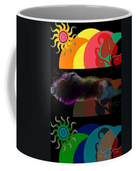 Coffee Mug featuring the digital art Environment by Clayton Bruster