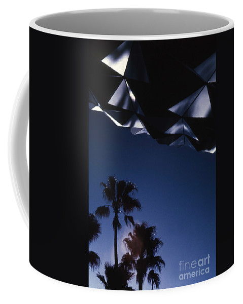 Epcot Coffee Mug featuring the photograph Epcot Abstract by Richard Rizzo