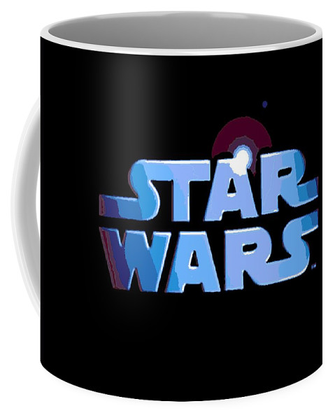 Star Wars Coffee Mug featuring the digital art Epic In 2 Words by George Pedro
