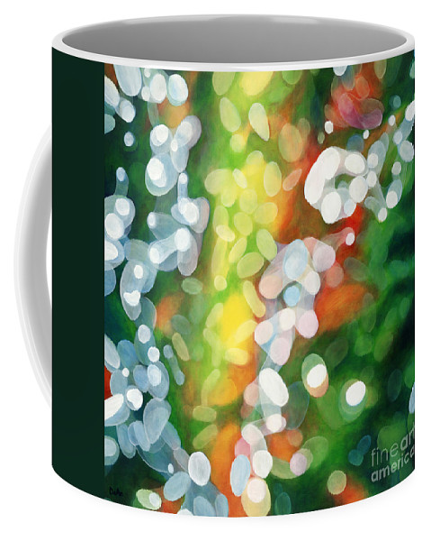 Queen Coffee Mug featuring the painting Eriu Queen Of The Emerald Isle by Do'an Prajna - Antony Galbraith