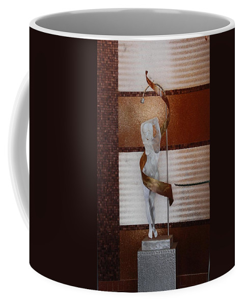 Statue Coffee Mug featuring the photograph Erotic Museum Piece by Rob Hans