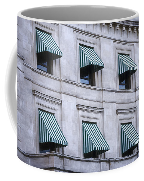 Joan Carroll Coffee Mug featuring the photograph Escambia County Courthouse Windows by Joan Carroll