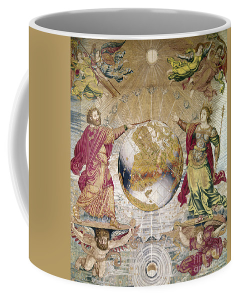 16th Century Coffee Mug featuring the photograph Escorial: Tapestry by Granger