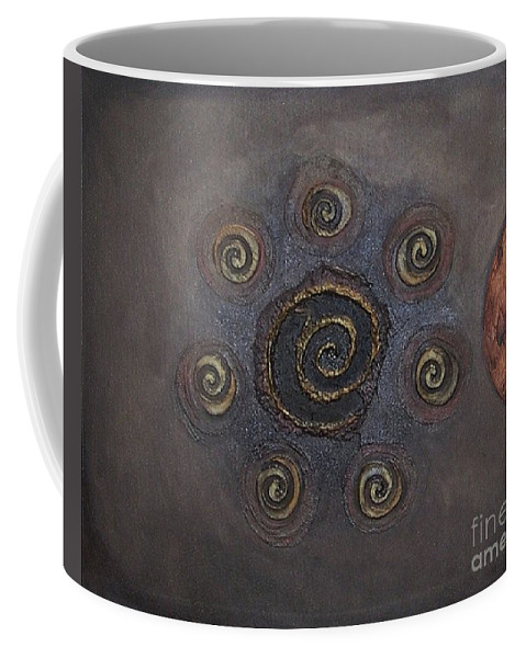 Sets Coffee Mug featuring the painting Espresso Roast by Marlene Burns