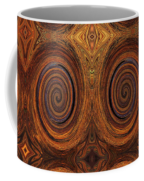 Rust Coffee Mug featuring the photograph Essence Of Rust - Tiled by Sue Duda