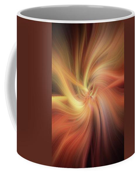 Jenny Rainbow Fine Art Photography Coffee Mug featuring the photograph Essential Vibrations Of Light by Jenny Rainbow