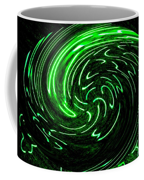 Abstract Coffee Mug featuring the digital art Euphoria by Will Borden