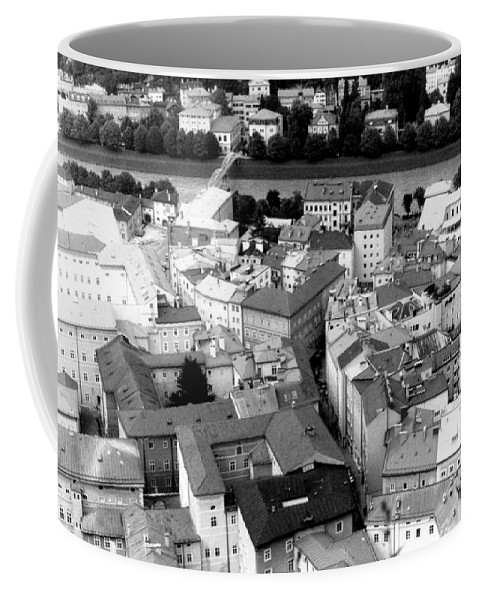 Rofftops Coffee Mug featuring the photograph European Rooftops by Michelle Calkins