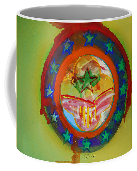 Coffee Mug featuring the painting European Union by Charles Stuart