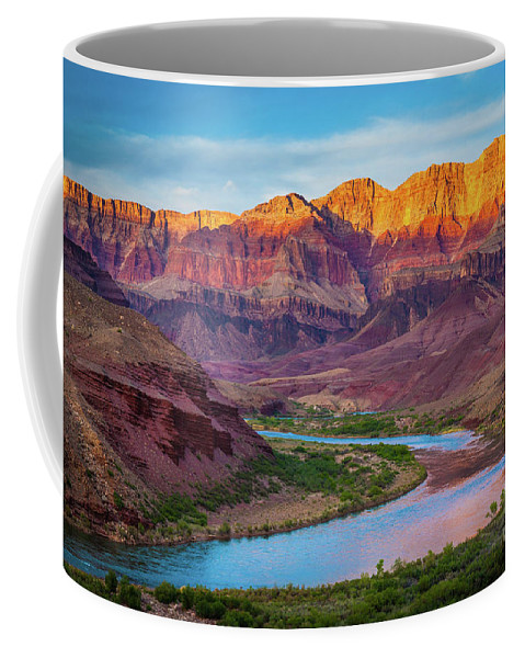 America Coffee Mug featuring the photograph Evening At Cardenas by Inge Johnsson