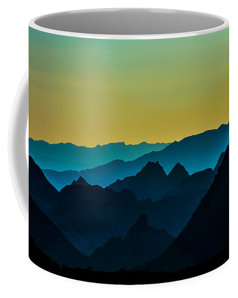 Mountains Coffee Mug featuring the photograph Evening At Lake Mead by Stephen Whalen