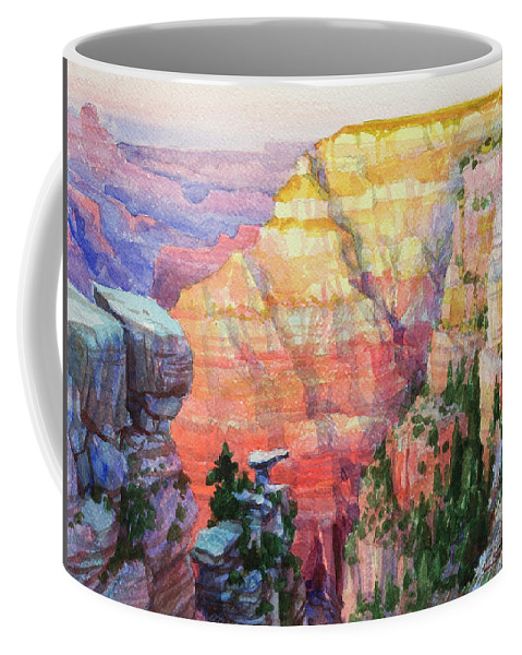 Southwest Coffee Mug featuring the painting Evening Colors by Steve Henderson