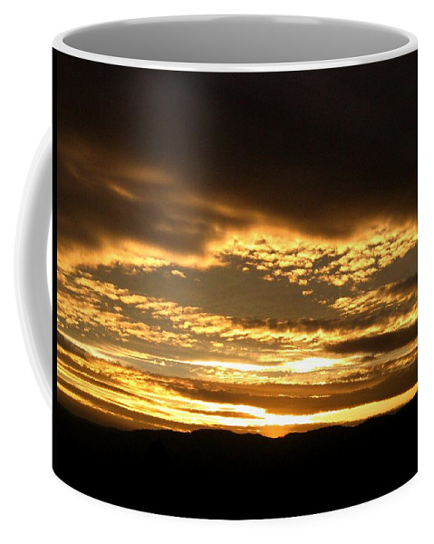 Sunset Coffee Mug featuring the photograph Evening Grandeur by Will Borden