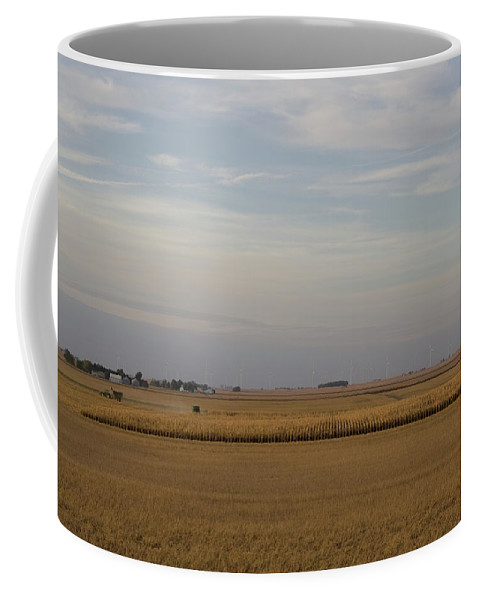 Evening Harvest Coffee Mug featuring the photograph Evening Harvest by Dylan Punke