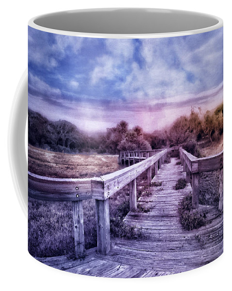 Clouds Coffee Mug featuring the photograph Evening Invitation by Debra and Dave Vanderlaan