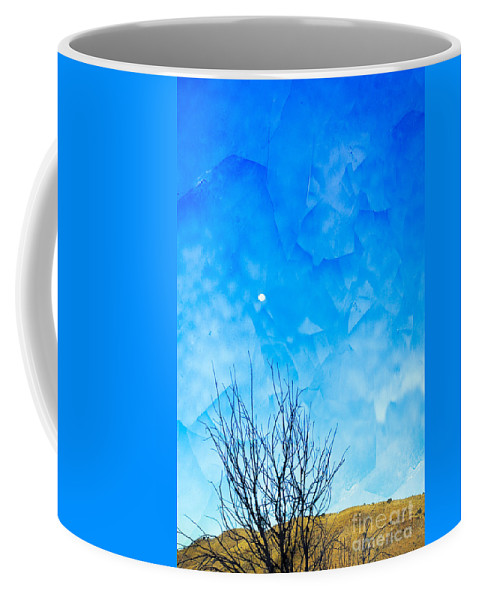 Moon Coffee Mug featuring the photograph Evening Moon by Gary Richards