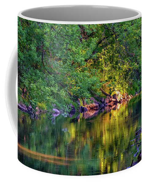 Steve Harrington Coffee Mug featuring the photograph Evening On The Humber River by Steve Harrington