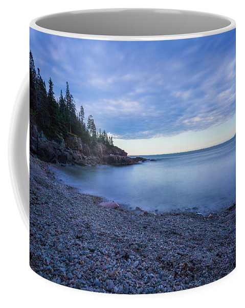 Acadia Coffee Mug featuring the photograph Evening Shadows by Arti Panchal