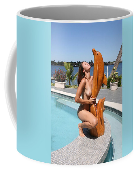 Everglades City Fl.professional Photographer Everglades City Fl. Photographer Everglades City Glamour Everglades City Beauty Everglades City Photographer Lucky Cole Angels Sexy Exotic Natural Beauty Glamorous Environmental Portraits Female Natural Settings Exotic Beauty Wildlife  Everglades City Florida Coffee Mug featuring the photograph Everglades City Fl. Professional Photographer 349 by Lucky Cole