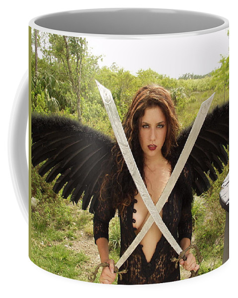 Everglades City Photographer Everglades City Glamour Everglades City Beauty Everglades City Photographer Lucky Cole Angels Sexy Exotic Natural Beauty Glamorous Environmental Portraits Female Natural Settings Exotic Beauty Wildlife Coffee Mug featuring the photograph Everglades City Glamour 172 by Lucky Cole