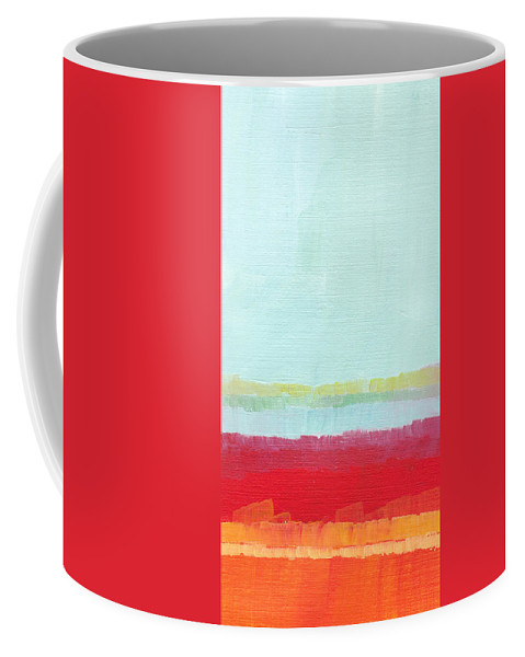 Bright Coffee Mug featuring the painting Everlasting Beginnings by Chelsie Ring