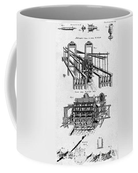 Historic Coffee Mug featuring the photograph Examples Of Hydrostatics, C. 1812 by Wellcome Images