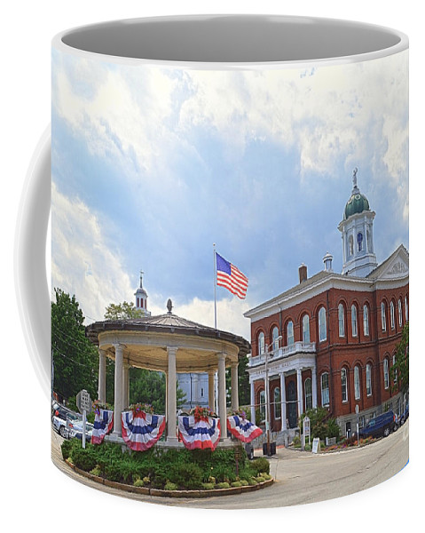 Exeter Coffee Mug featuring the photograph Exeter Town Hall by Catherine Sherman