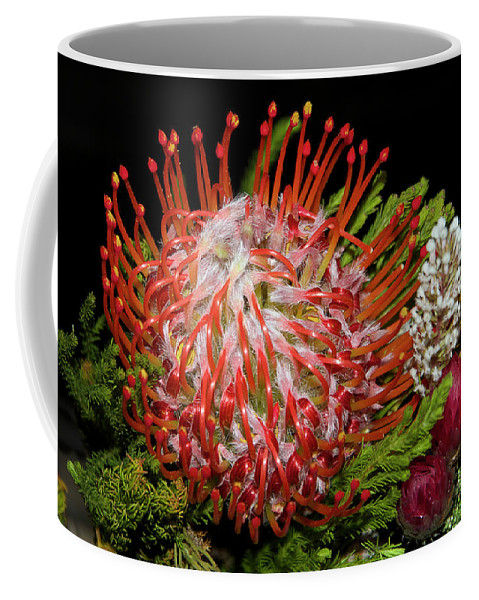 Flowers Coffee Mug featuring the photograph Exotic Bouquet by Elvira Ladocki