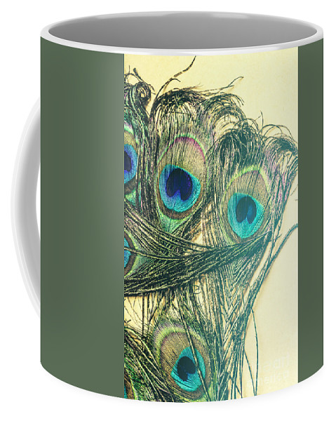 Exotic Coffee Mug featuring the photograph Exotic Eye Of The Peacock by Jorgo Photography - Wall Art Gallery