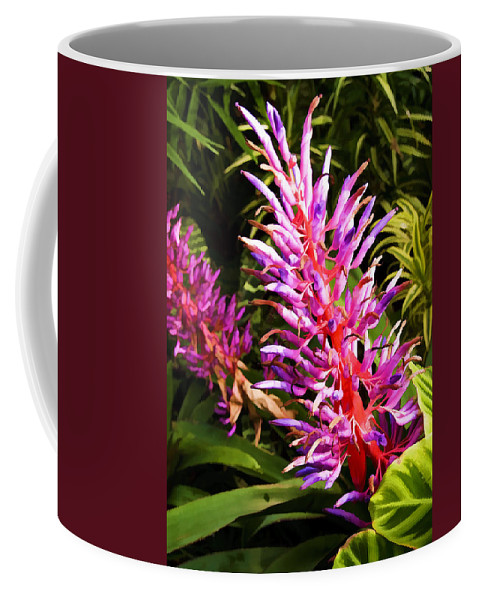 Exotic Coffee Mug featuring the photograph Exotic Flora by Ricky Barnard