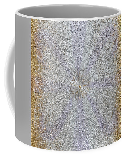 Abstract Painting Coffee Mug featuring the painting Expansion by Georgeta Blanaru
