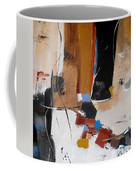 Abstract Coffee Mug featuring the painting Expectations by Ruth Palmer