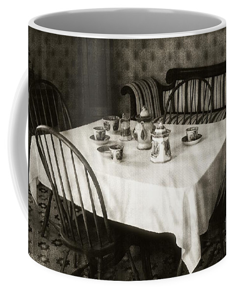 Still Life Coffee Mug featuring the photograph Expecting Guests by RC DeWinter