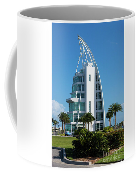 America Coffee Mug featuring the photograph Exploration Tower Florida by Jennifer White