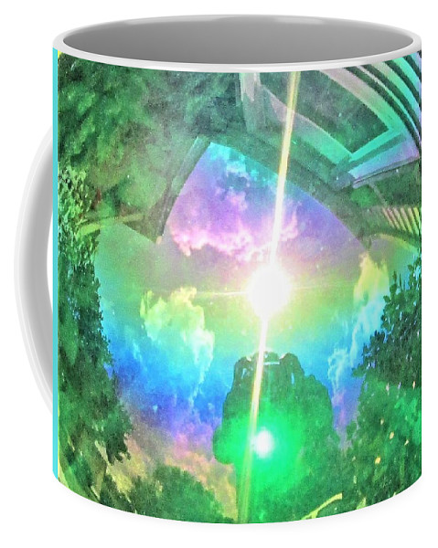Sun Coffee Mug featuring the photograph Explorer Of Worlds by Michael Potts