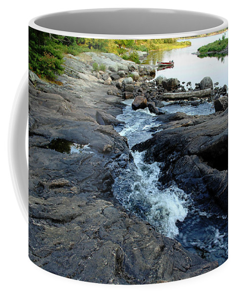 Landscape Coffee Mug featuring the photograph Exploring by Debbie Oppermann