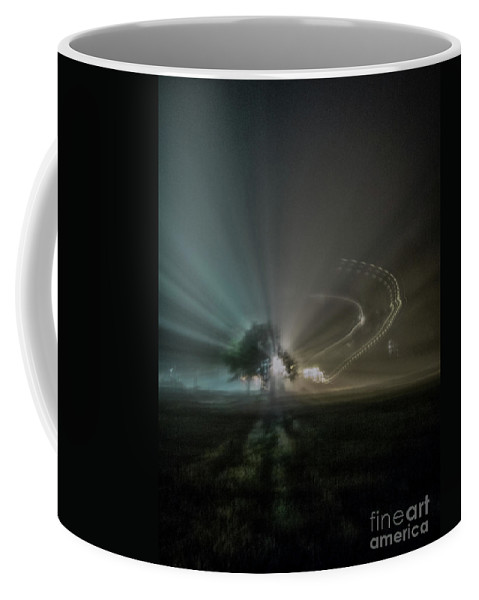 Night Coffee Mug featuring the photograph Extraterrestrial Lights by James Aiken