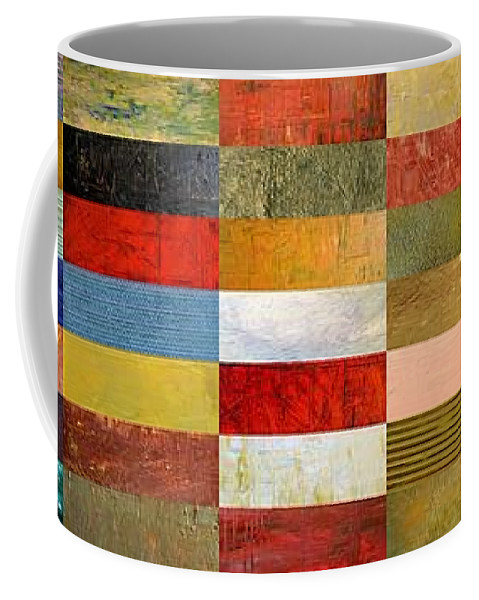 Textural Coffee Mug featuring the digital art Eye Candy by Michelle Calkins